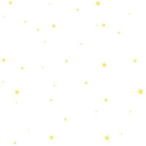 WoollypetalsStarry Eyed white with Canary Yellow stars