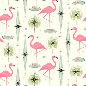 Atomic Flamingo Oasis Large Scale