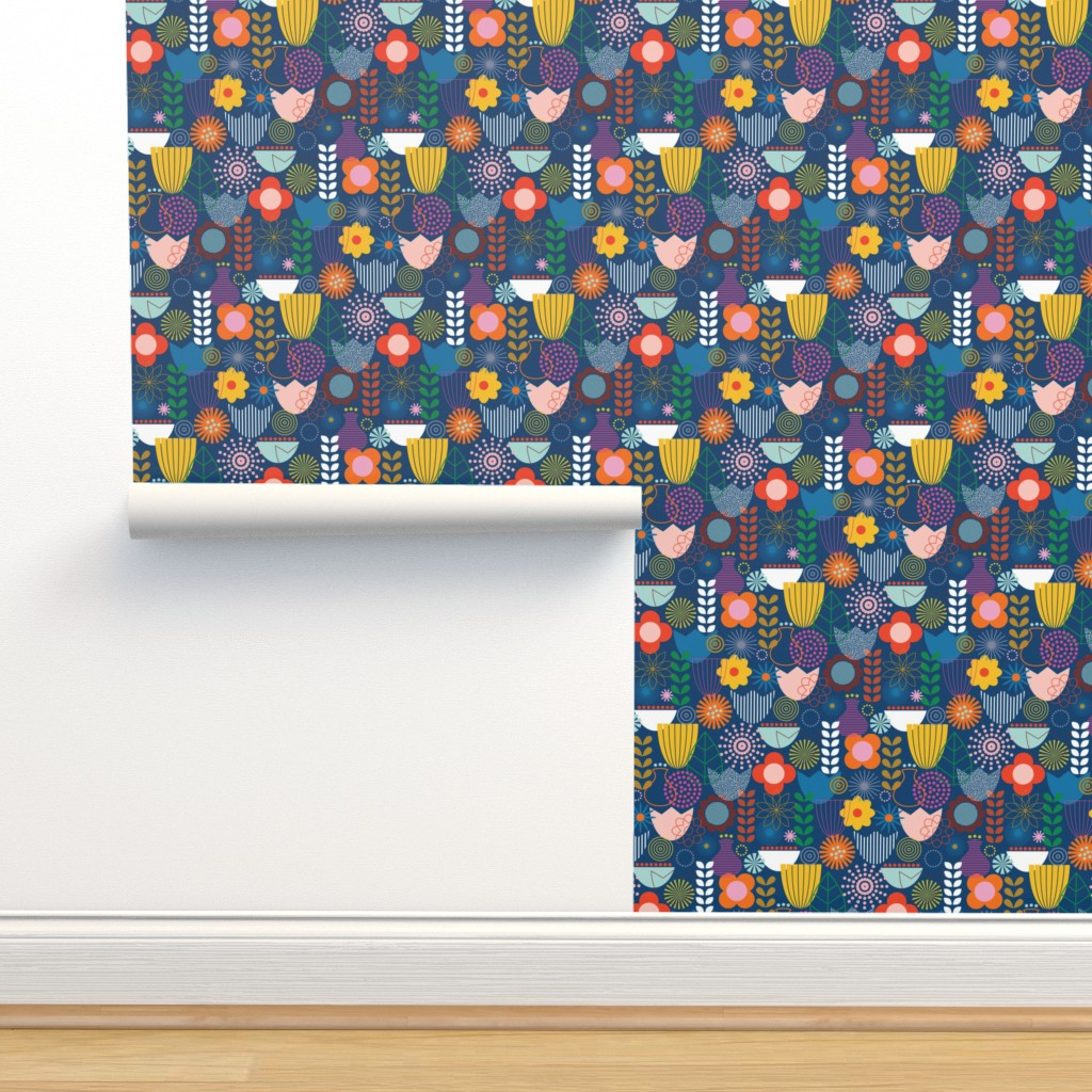 Isobar Durable Wallpaper featuring Maximum Scandi by katerhees
