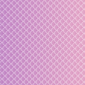 Lilac Ombre Mermaid Pattern