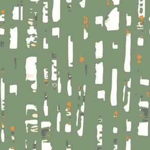 Birches Dream (olive v4)
