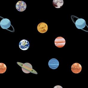 Planet Polka Dots