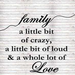 Family 2 yard print