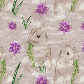 19-05W Taupe Easter Bunny
