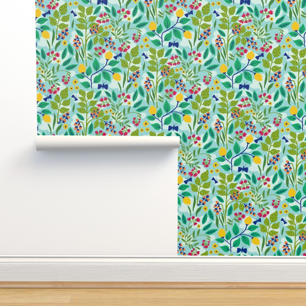 Isobar Durable Wallpaper featuring Color Garden by jacquelinehurd