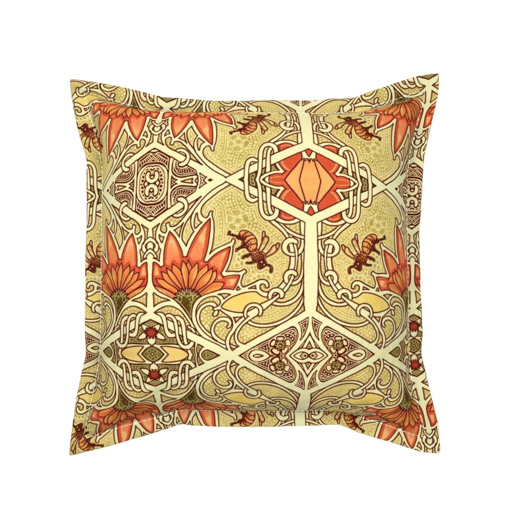 Serama Throw Pillow featuring For My Honey by edsel2084