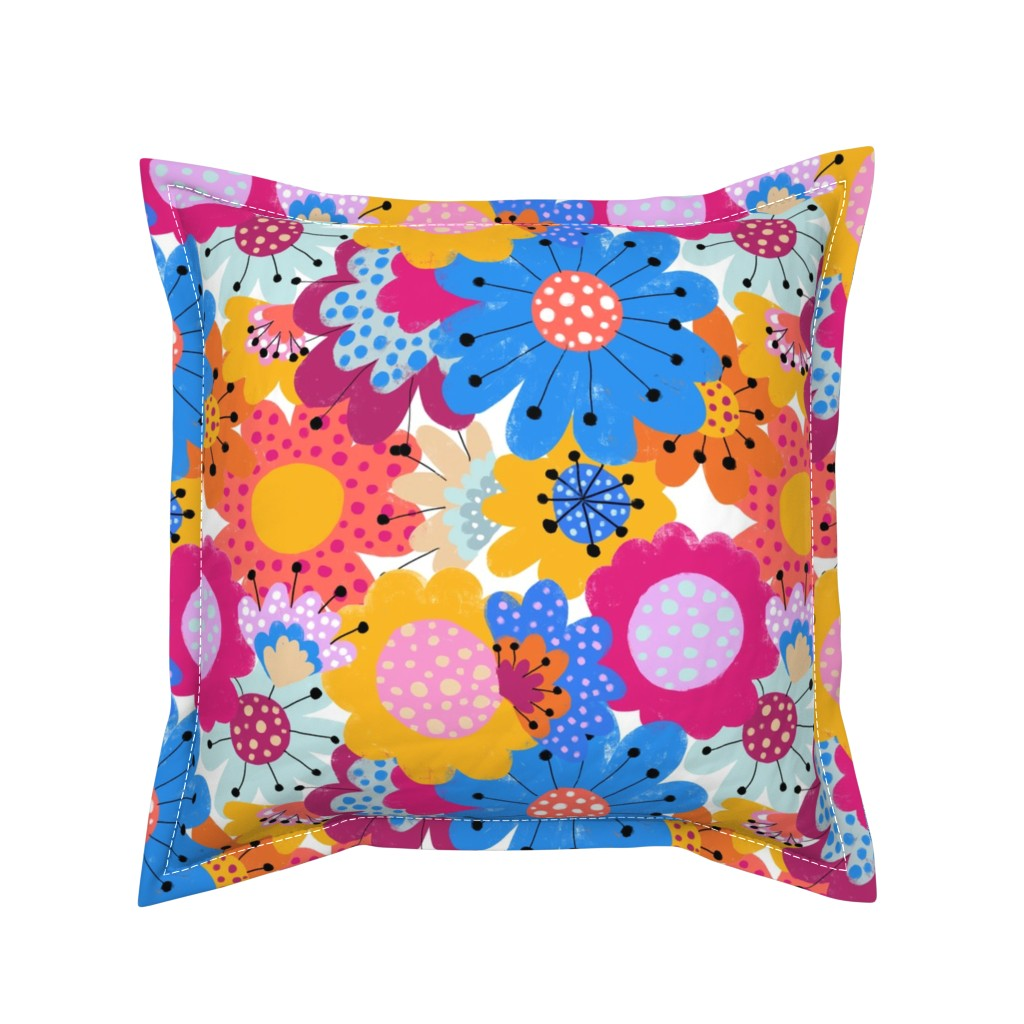Serama Throw Pillow featuring Take it to the Max! - by Kara Peters by karapeters