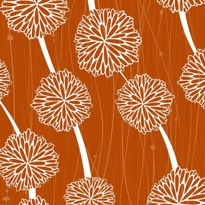 Pom Poms Small M+M Ginger by Friztin