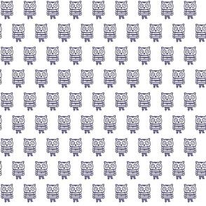 blue panda owl