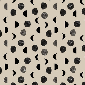 speckled black moon phases // 13-2