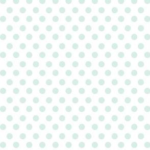 Simple Dot // Robin's Egg on White