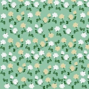 White Roses Pattern