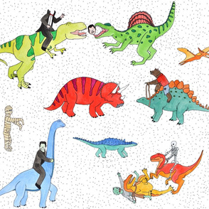 Dinosaurs and Monsters