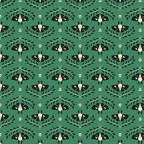 Spooky Moths (Green & Small)