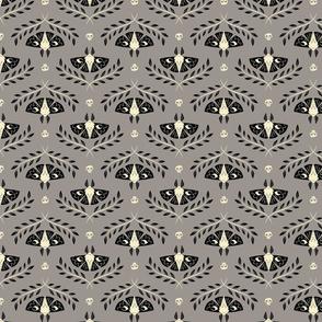 Spooky Moths (Gray & Small)