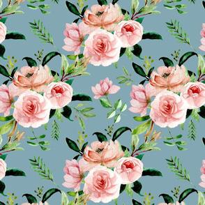 Coral Rose Bouquets