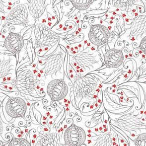 Pomegranates Pattern