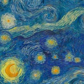 "half-size Starry Night Sky (12"" repeat)"