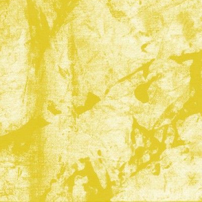 19-06Y Gold Mustard Yellow Faux batik BlenderSolid