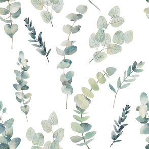 """18"""" Silver Dollar Eucalyptus"""