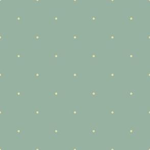 Carnival Glass Dots - Celadon