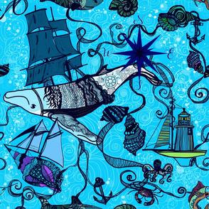 Sailing Fantasy Ocean
