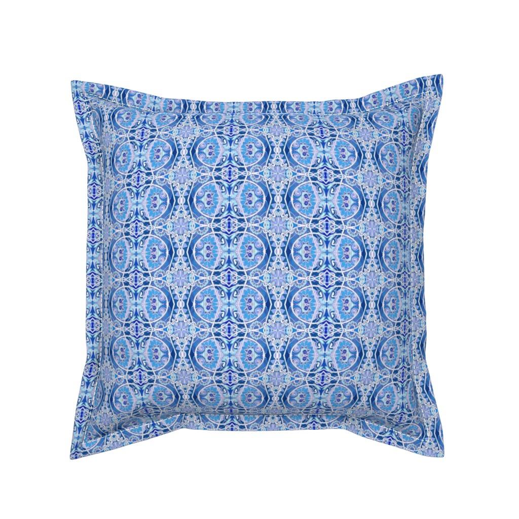 Serama Throw Pillow featuring Winter Wonderland by edsel2084