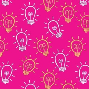 Lightbulb Moments on  Pink