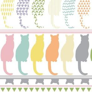 Cat border Big scale