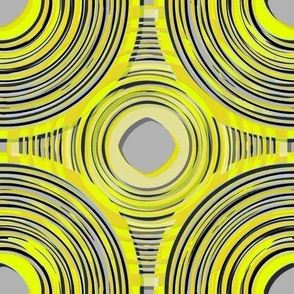 Oscillate in lime yellow