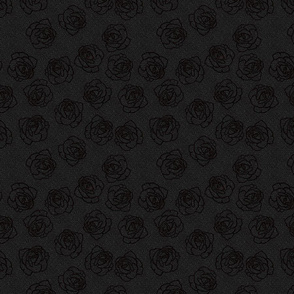 Perfect black on black roses