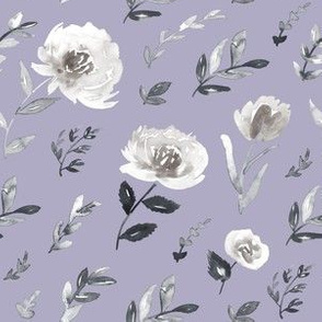 Gray and lavender