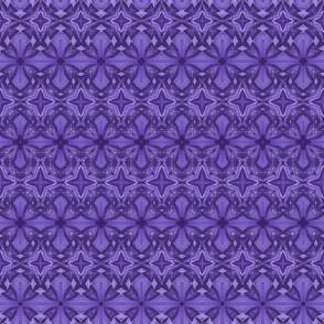 Quilting in Purple Design No 17 Metamorphasis