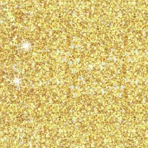 Yellow Gold Glitter