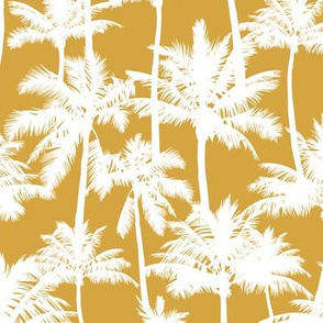palm trees  - mustard, small