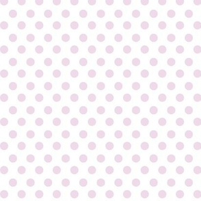 Simple Dot // Lavender on White