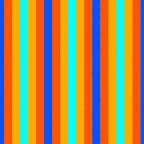 blue orange small stripe