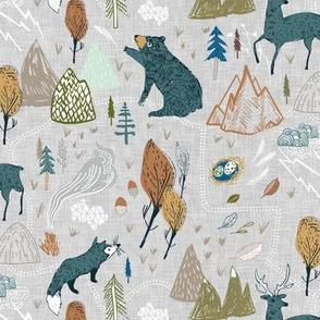 Backwoods Trail (grey) MED