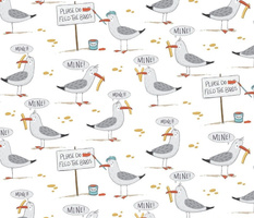 Seagulls and Chips - medium scale