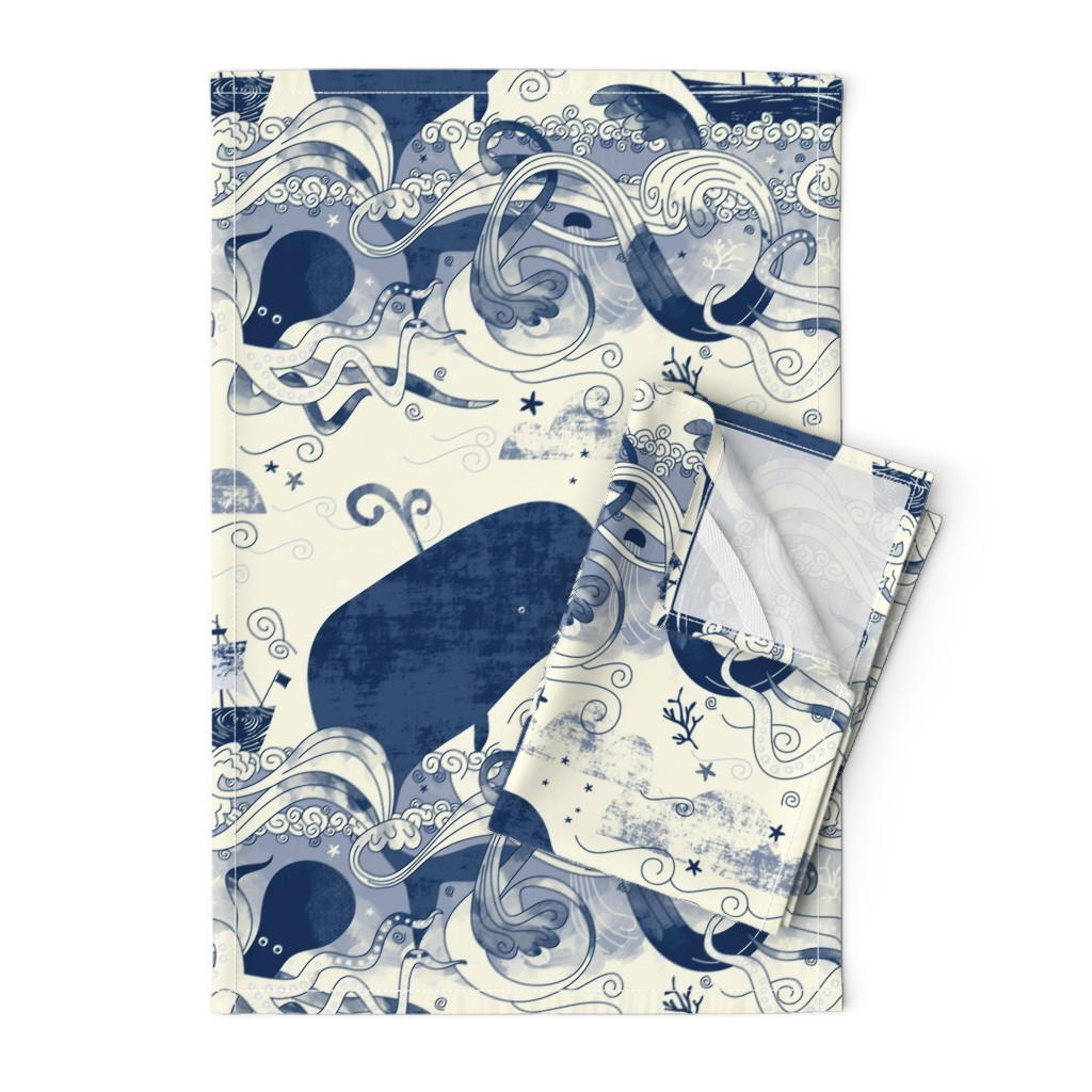 Orpington Tea Towels featuring Sea 'n' Me by Mount Vic and Me by mountvicandme