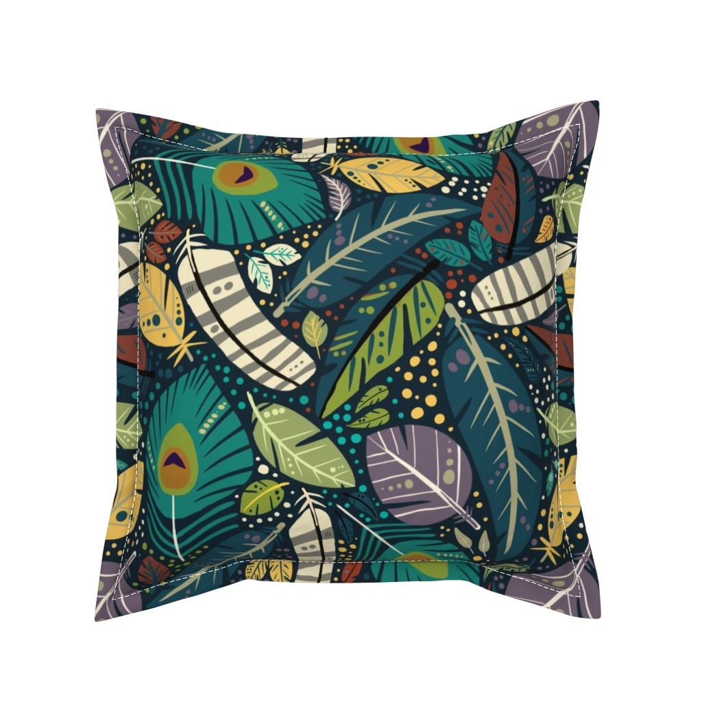 Serama Throw Pillow featuring Birds of a feather  by vicki_larner