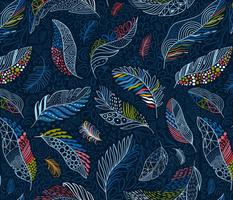 Beautiful colorful feathers (Anna Alekseeva)