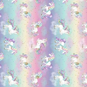 Pastel Rainbow Unicorn-Rotated