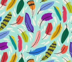 Swirly Feathers