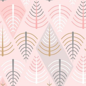 Geometric Feathers, Trees and Rivers