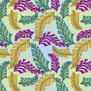 quilted feathers 2d