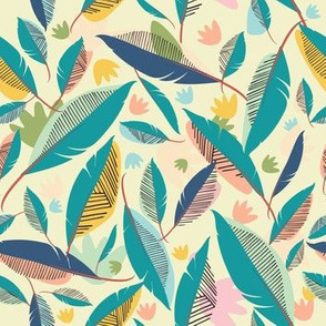 Spring Feathers