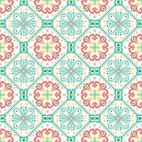 Tiny Coral Tiles
