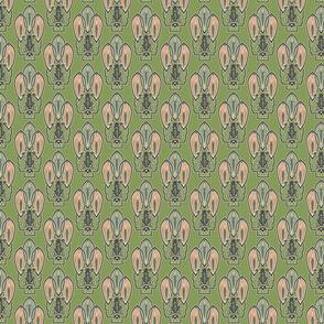 Art Deco Frog 3.25