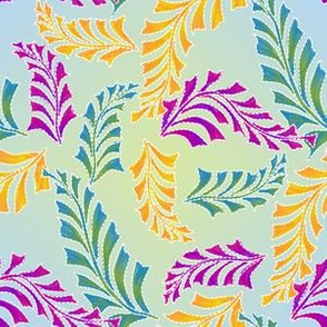 quilted feathers 2c
